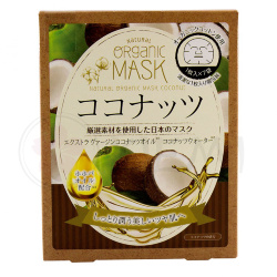 Japan Gals Natural Organic Mask Coconut маска для лица