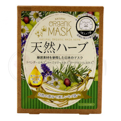 Japan Gals Natural Organic Mask Herb маска для лица