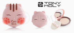 Пудра для лица Tony Moly Cats Wink Clear Pact