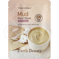 Тканевая маска Earth Beauty Mud Mask Sheet