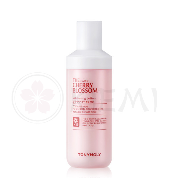 Осветляющий лосьон TonyMoly The Hayan Cherry Blossom Whitening Lotion