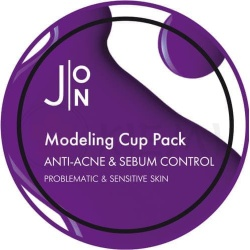 Альгинатная маска против акне и контроля жирности кожи лица J:ON Anti-Acne & Sebum Control Modeling Pack