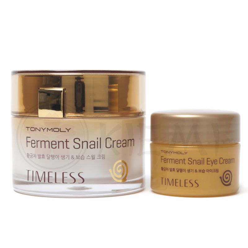 Набор Крем для лица и крем для области век TONY MOLY Timeless Ferment Snail Cream