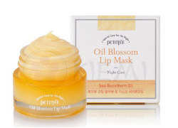 Маска для губ с витамином Е и маслом облепихи Oil Blossom Lip Mask